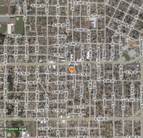 Greenspace in ELUMC's neighborhood - only a half-mile away