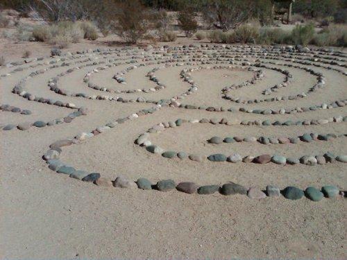 Labyrinth at Franciscan Retreat Center, Scottsdale, AZ